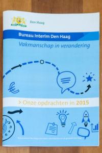 Marlies Wopereis schreef in opdracht van de gemeente Den Haag de brochure Vakmanschap in verandering