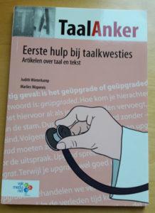 Marlies Wopereis is mede-auteur van het boek Eerste hulp bij taalkwesties