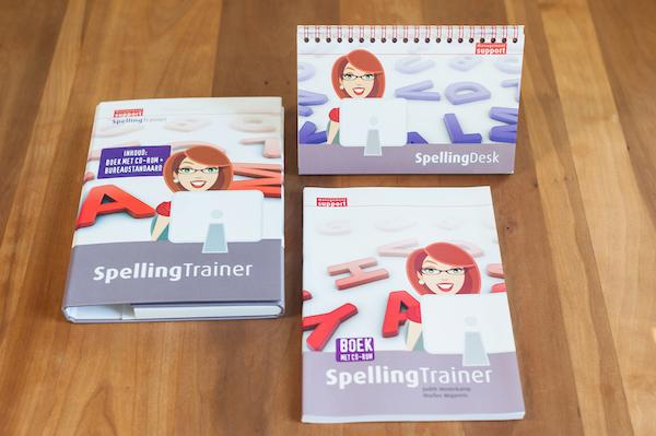 Marlies Wopereis van Lopende teksten uit Den Haag heeft de Spellingtrainer geschreven.